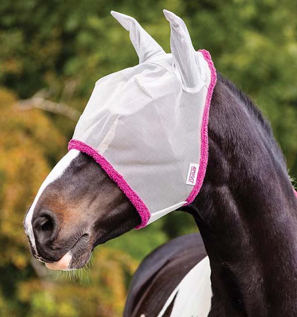 Masta UV Fly Mask avec protection oreilles argent