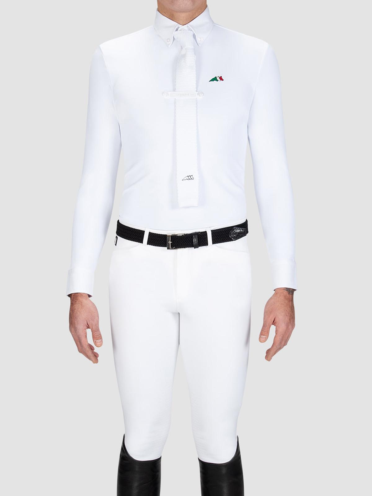 chemise equitation concours